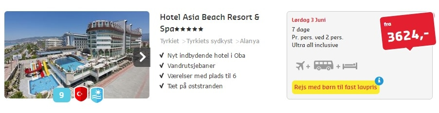 Alanya Tyrkiet All Inclusive