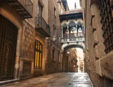 Det gotiske kvarter (Barri Gotic)